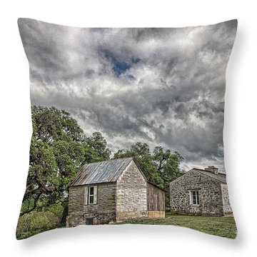Guard House Throw Pillow