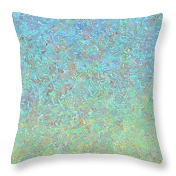 Guard Throw Pillow by James W Johnson