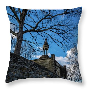Guarded Summit Memorial Throw Pillow