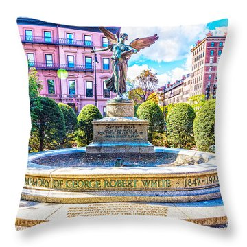 Throw Pillow featuring the photograph Guardian Angel by Anthony Baatz