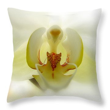 Throw Pillow featuring the photograph Guardian Angel by Blair Wainman