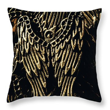 Guardian Angel Charms Throw Pillow