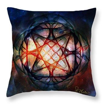 Guardian Of Light Throw Pillow