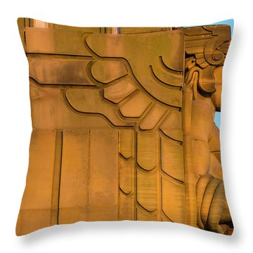Guardian Profile #1 Throw Pillow