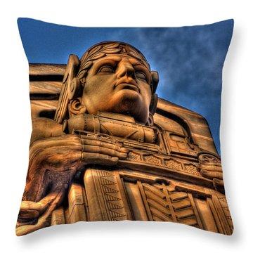Guardians Of Transportation Throw Pillow