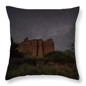 Guardians Under The Stars Throw Pillow