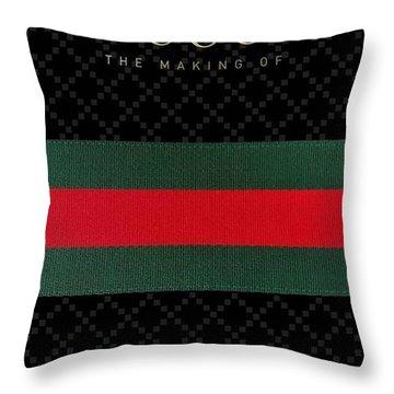 Gucci Throw Pillow