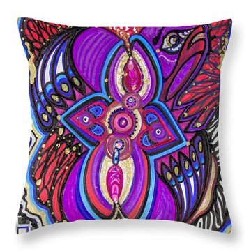 Guess What I'm Thinking Throw Pillow