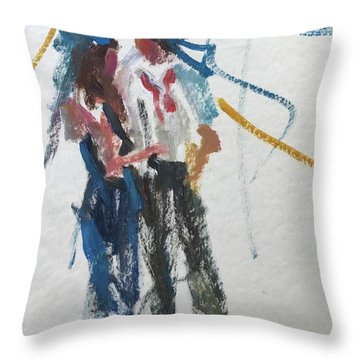 Guests 24 Throw Pillow