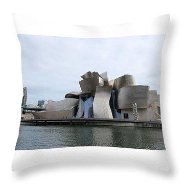 Guggenheim Museum. Bilbao Throw Pillow
