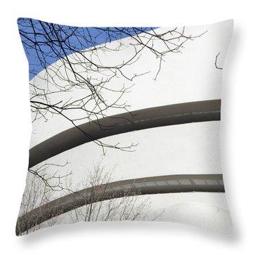 Guggenhiem Color II Throw Pillow