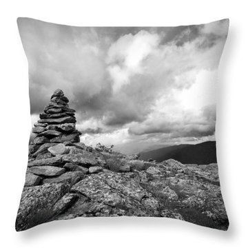Guide In The Clouds Throw Pillow