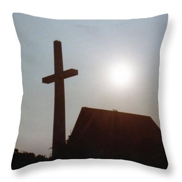 Throw Pillow featuring the photograph Guiding Light by Betty Northcutt