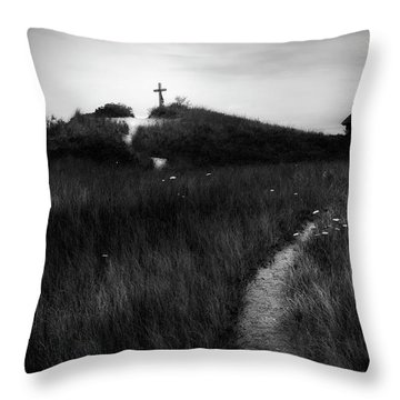 Throw Pillow featuring the photograph Guiding Light by Bill Wakeley