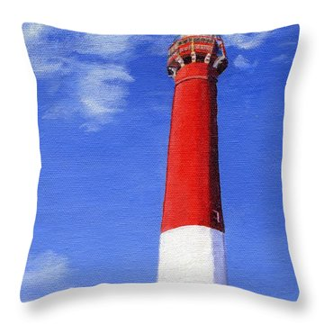 Throw Pillow featuring the painting Guiding Light by Lynne Reichhart