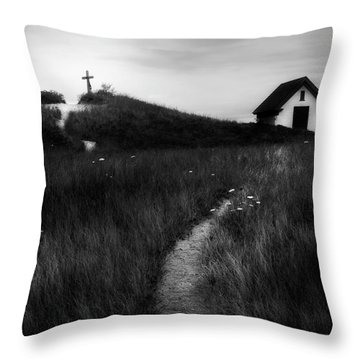 Throw Pillow featuring the photograph Guiding Light Square by Bill Wakeley