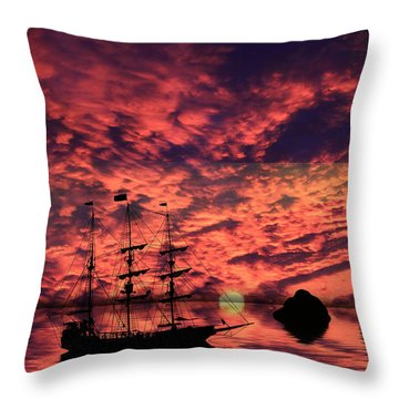 Guiding The Way Throw Pillow