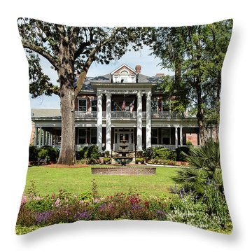 Guignard Mansion Throw Pillow
