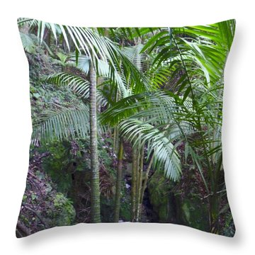 Guilarte's Forest Throw Pillow
