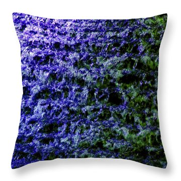 Throw Pillow featuring the photograph Guildford Waterfall by Will Borden