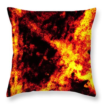 Guilty Throw Pillow by Skip Hunt