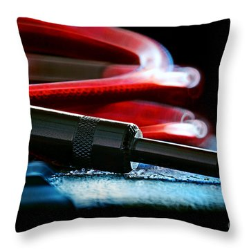 Guitar Jack Throw Pillow