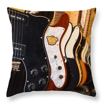 Throw Pillow featuring the photograph Rock Collection by Dany Lison