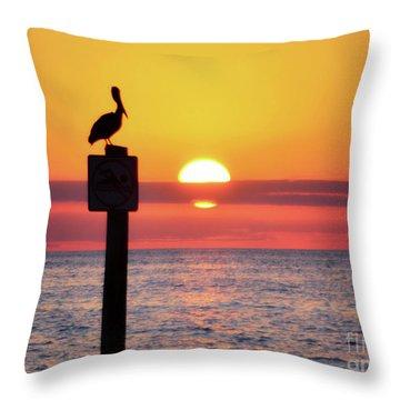 Gulf Coast Enchantment Throw Pillow