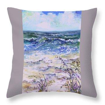 Gulf Coast Florida Keys  Throw Pillow
