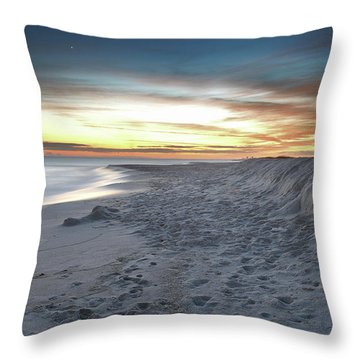 Throw Pillow featuring the photograph Gulf Island National Seashore by Renee Hardison
