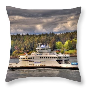 Gulf Islands 7 Throw Pillow