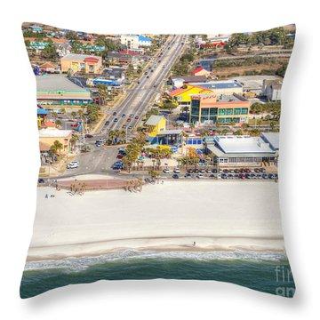 Gulf Shores - Hwy 59 Throw Pillow