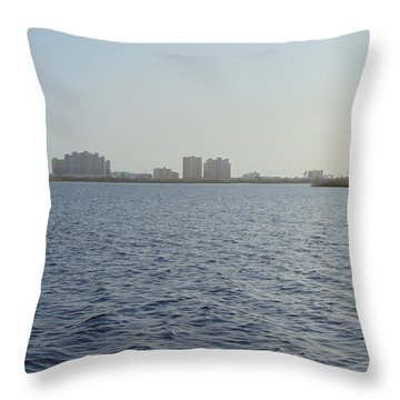 Gulf Shores Throw Pillow