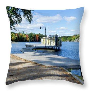 Gull Lake Park Gravenhurst 2 Throw Pillow