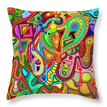 Gumstore Throw Pillow