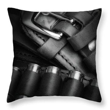Gunbelt Throw Pillow