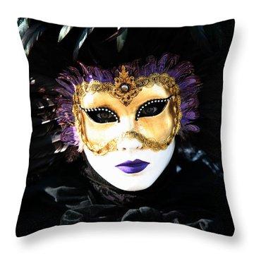 Gunilla Maria's Portrait 2 Throw Pillow