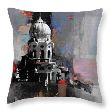 Gurdwara 190 1 Throw Pillow