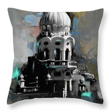 Gurdwara 190 II Throw Pillow