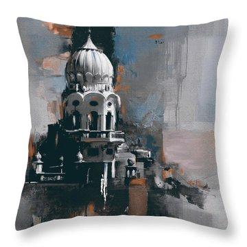 Sikh Art Throw Pillows