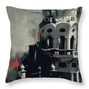 Gurdwara 190 Iv Throw Pillow
