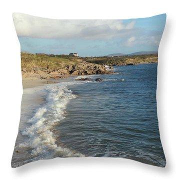 Gurteen Beach 2 Throw Pillow