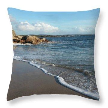 Gurteen Beach Throw Pillow