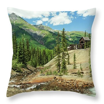 Gustan Mine Throw Pillow