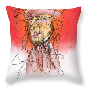 Gusts, Dust, The Sun... Throw Pillow