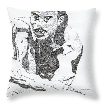 Guy Throw Pillow