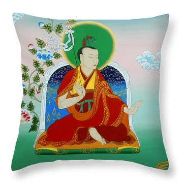 Gyalwa Choyang Throw Pillow