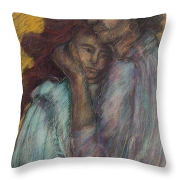 Gypsie Lovers Throw Pillow