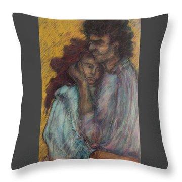 Gypsie Lovers Throw Pillow