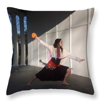 Gypsy Dance Throw Pillow